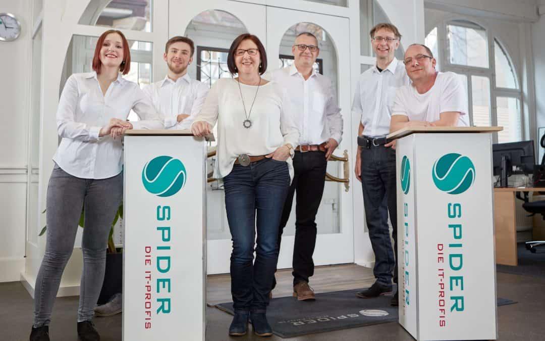 Die Spider Netzwerk + Software GmbH wird heute 25 Jahre alt!