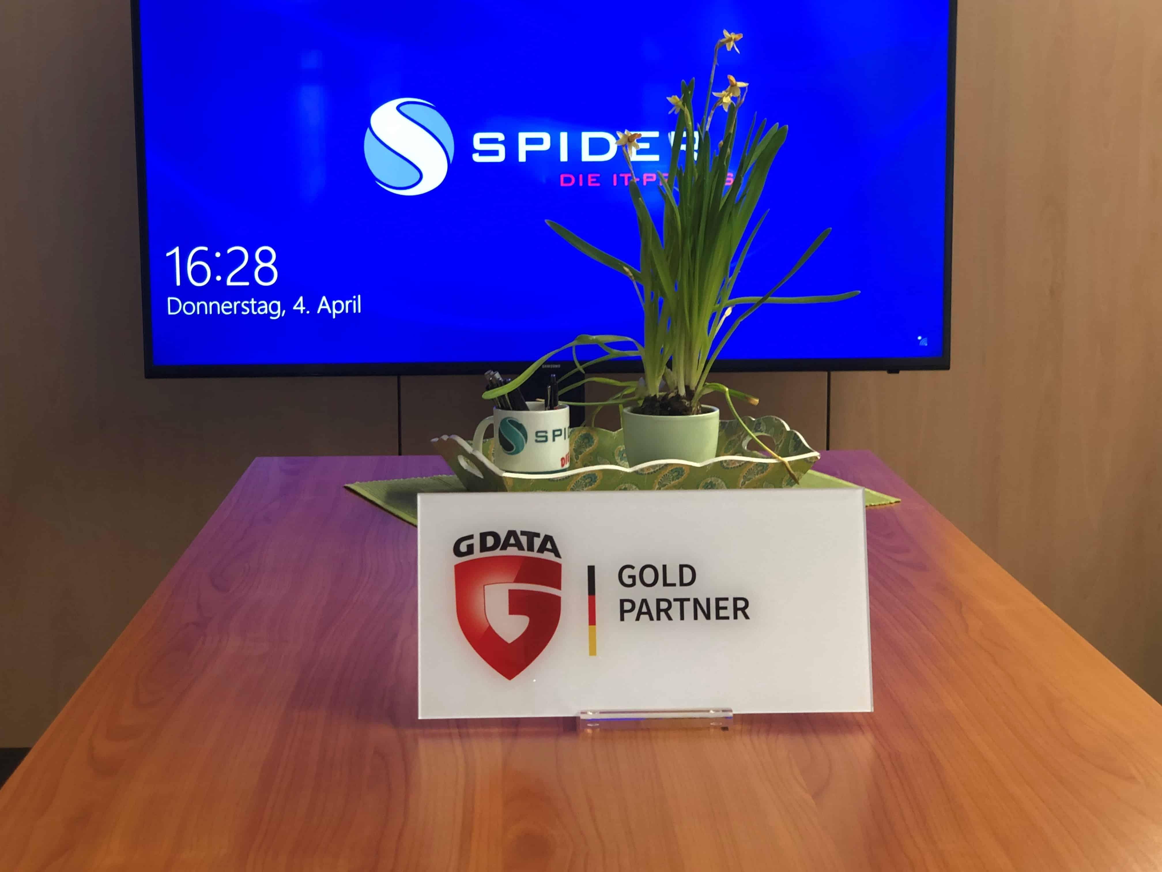 Die Spider GmbH ist jetzt GDATA Gold Partner…